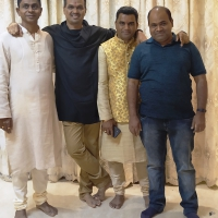 College firends remain as family friends