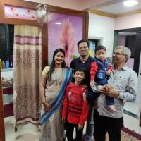 late Mrs. Darekar family for death claim yrly one primium paid