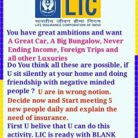 YOUR DREAM CAN ACHIVED BY LIC